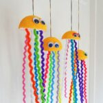 Make a rainbow jellyfish craft - CraftsbyAmanda.com