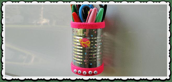 Magnetic Locker Pencil Holder Crafts By Amanda