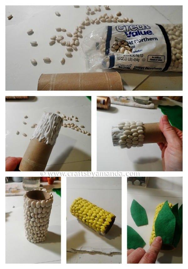 Corn on the Cob Pencil Holder