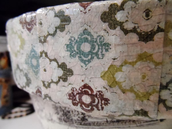 Vintage Crackled Flower Pot step 3 by CraftsbyAmanda.com