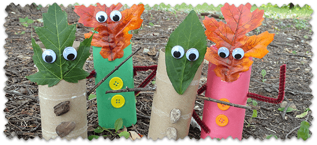 Fall Leaf Finger Puppets
