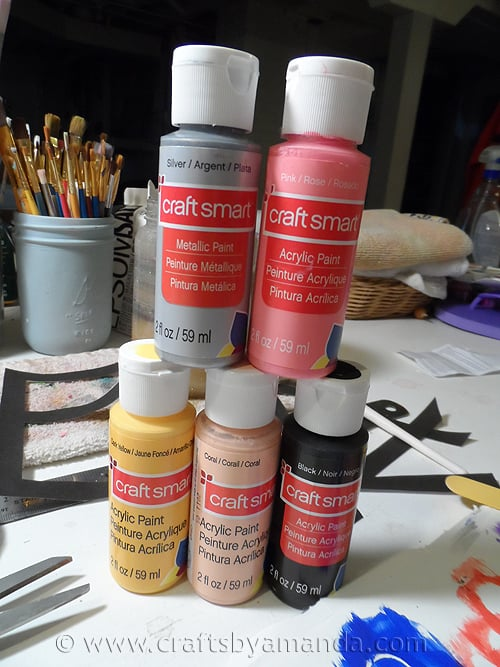 CraftSmart Paint for Pencil Bookmarks - CraftsbyAmanda.com
