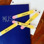 Craft Stick Pencil Bookmarks