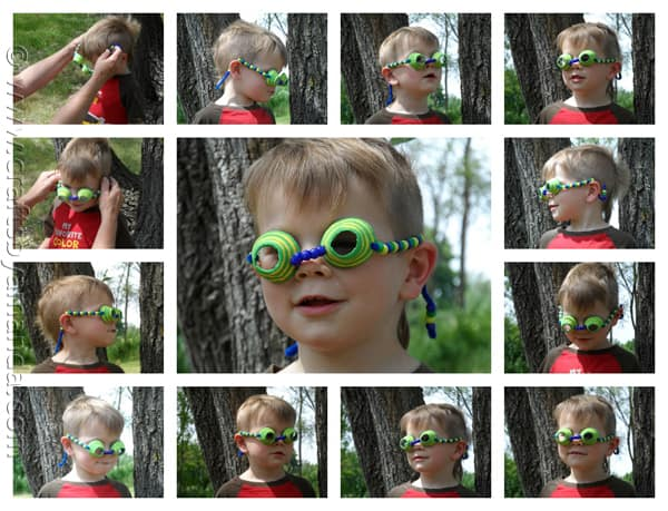 Egg Carton Spy Glasses - CraftsbyAmanda.com