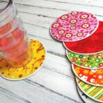 Recycle Craft: CD Coasters by CraftsbyAmanda.com