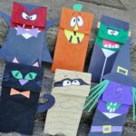 Halloween Craft: Paper Bag Puppets by CraftsbyAmanda.com