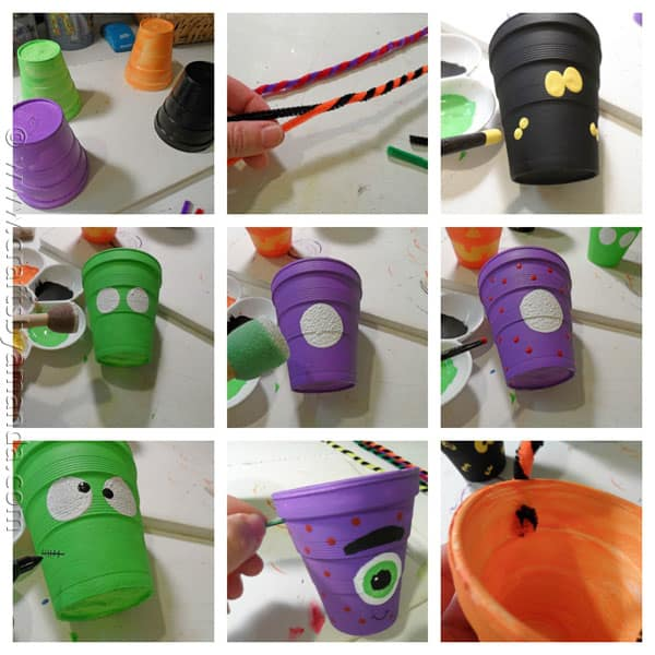 full printable instructions below get some styrofoam cups and paint