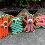 Colorful Pasta Monsters