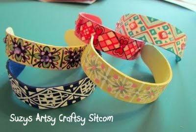 Suzy's Popsicle Stick Bracelets
