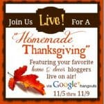 Watch LIVE on Google+: Thanksgiving crafts for kids!