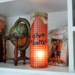 Thanksgiving Luminary Vase - CraftsbyAmanda.com