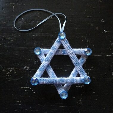 Shimmering Star of David - CraftsbyAmanda.com