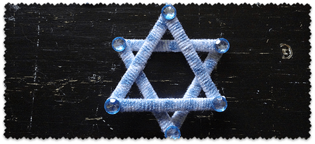 Shimmering Star of David