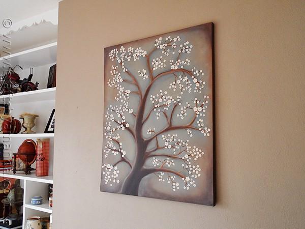 Cute White Cherry Blossom Tree Painting CraftsbyAmanda