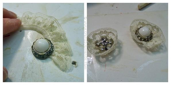 Vintage Crackled Cherub Ornaments - CraftsbyAmanda.com