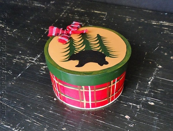 North Woods Gift Box - CraftsbyAmanda.com