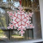 Scandinavian Snowflake Plaque
