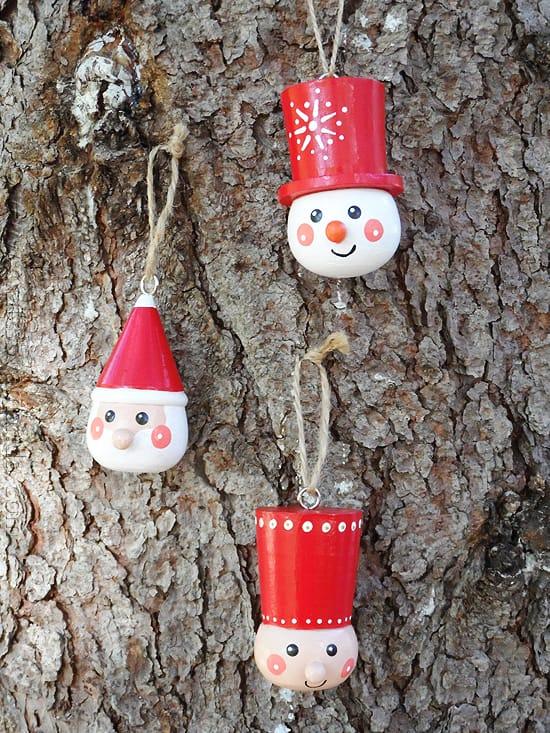 Scandinavian Wooden Ornaments - CraftsbyAmanda.com