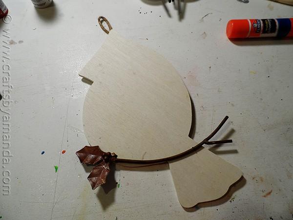 Scandinavian Bird Plaque - CraftsbyAmanda.com