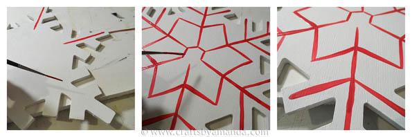 Scandinavian Snowflake Plaque - CraftsbyAmanda.com