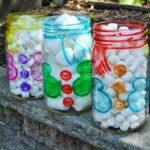 Snowman Belly Jars