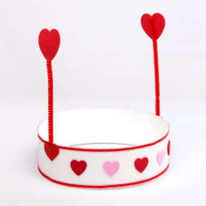 Fun Kid's Valentine Hat Craft