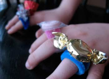 Wearable Edible Candy Rings