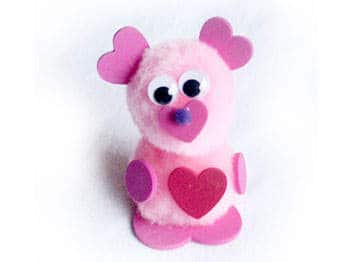 Pom Pom Valentine Critter