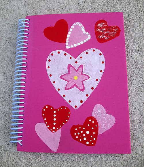 Valentine Notebook