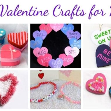 28 Valentine Crafts for Kids by Amanda Formaro craftsbyamanda.com @amandaformaro