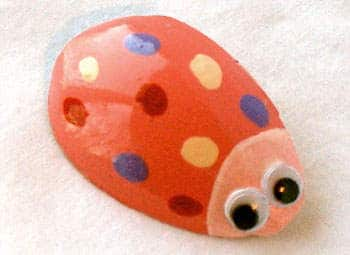 Valentine Love Bug Pin