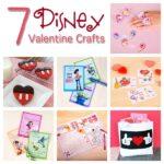 7 Disney Valentine Crafts and Printables