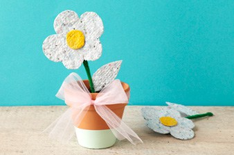 homemade plantable seed paper crafts by amanda