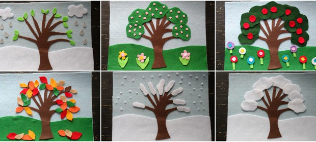 4 Seasons Felt Board