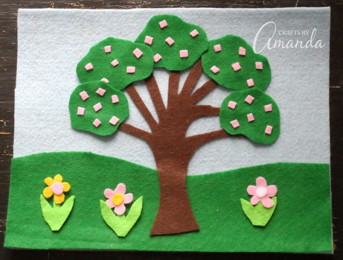 Spring Felt Board Craft