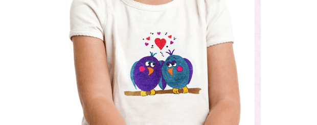 Iron On Love Birds Shirt