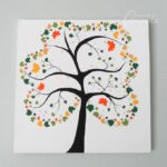 Shamrock Tree on Canvas