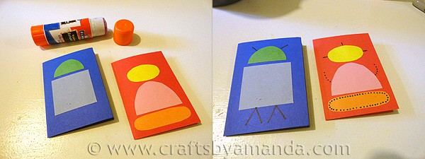 Make cute Robot Valentines from CraftsbyAmanda.com @amandaformaro