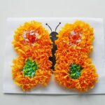 Butterfly Crafts: Make a Puffy Tissue Paper Butterfly from CraftsbyAmanda.com @amandaformaro