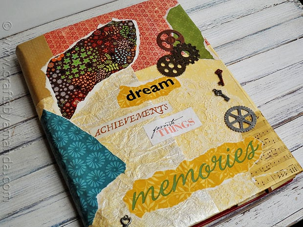 Diy Book Cover For Laptop : Book cover craft faux vinyl with mod podge