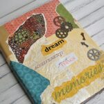 Tutorial - Mod Podge Faux Vinyl Book Cover via CraftsbyAmanda.com @amandaformaro