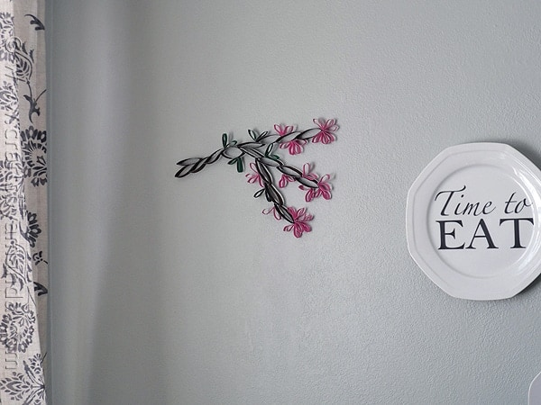 Fabulous Cardboard Tube Wall Art Cherry Blossoms from CraftsbyAmanda amandaformaro