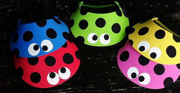 Ladybug Sun Visors