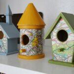 Road Map Birdhouses from CraftsbyAmanda.com @amandaformaro