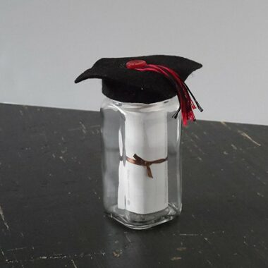 Graduation Gift Jar from CraftsbyAmanda.com @amandaformaro