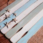 Weathered Paint Stick Beach Flag