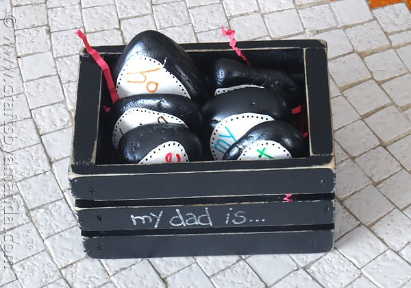 paperweight stones for Father's day