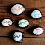 Father's Day Hero Stones by CraftsbyAmanda.com @amandaformaro