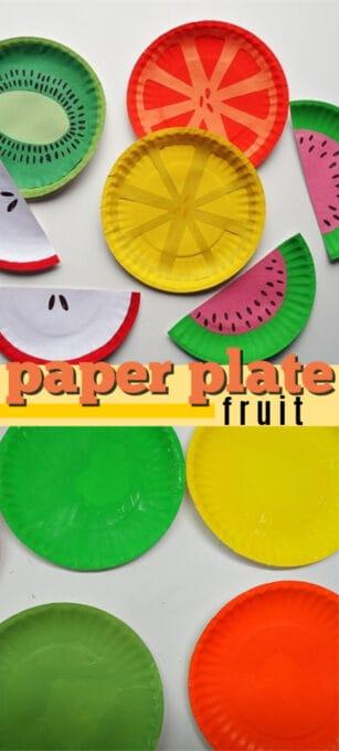paper plate fruit pin image