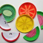 Paper Plate Fruit by CraftsbyAmanda.com @amandaformaro